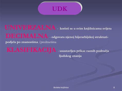 Univerzalna Decimalna Klasifikacija Udk Struktura - Eayan