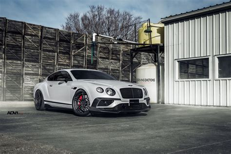 White Bentley Continental Gt V8s