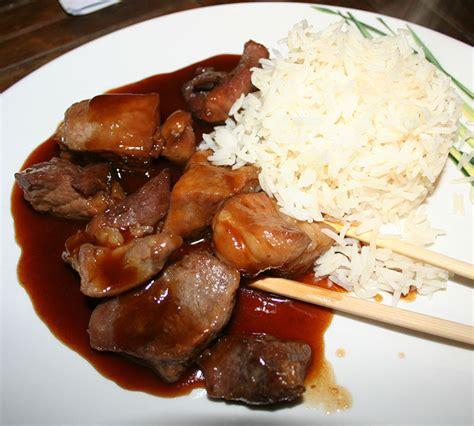 cuisiner le sauté de porc sauté de porc au caramel recettes cookeo