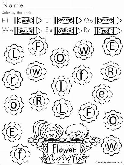 Preschool Letters Worksheets Letter Recognition Activities Spring