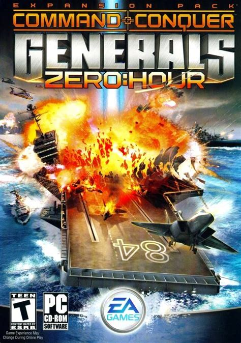 zero hour generals command conquer game