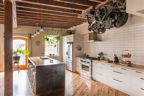 cuisine style industriel loft cuisine style industriel comment l 39 adopter pour créer une