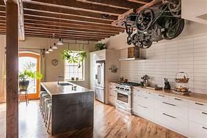 cuisine style industriel comment l39adopter pour creer une With cuisine style loft industriel