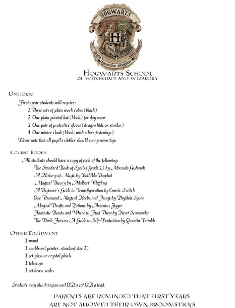 Hogwarts Acceptance Letter Template Hogwarts Acceptance Letter Template Beepmunk