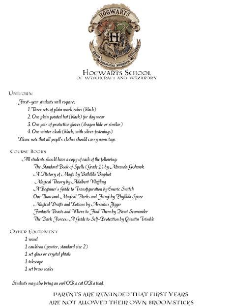 hogwarts acceptance letter template beepmunk