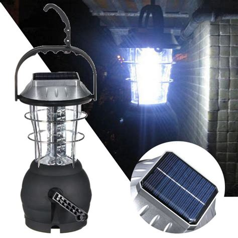 Outdoor Portable Solar Charger 36 Led Camping Lantern