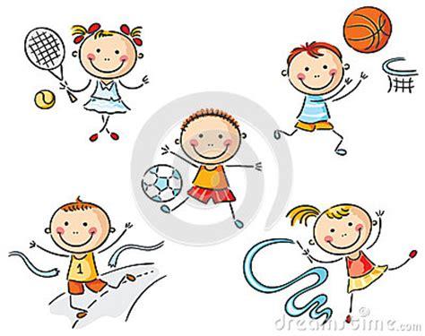 dessin de chambre enfants allant chercher dedans le sport illustration de