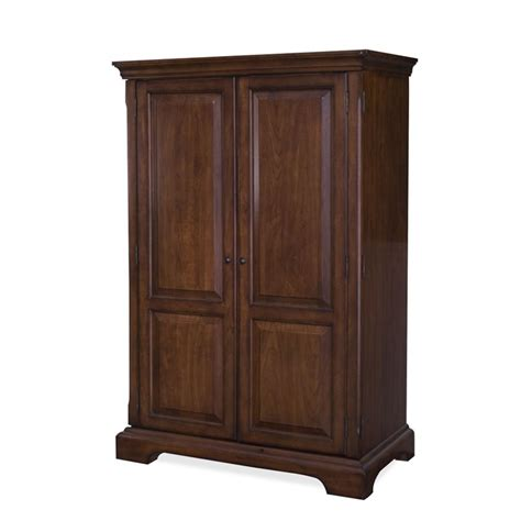 riverside furniture cantata computer armoire in burnished riverside cantata computer armoire in burnished cherry 4985