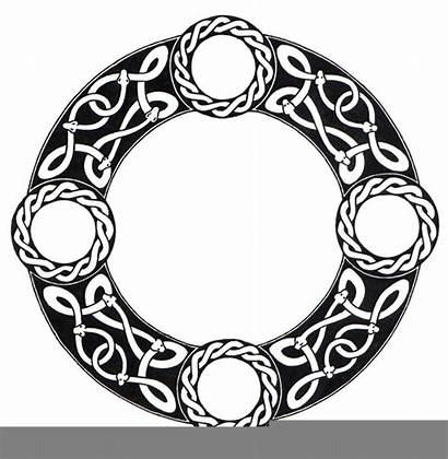 Circle Vector Celtic Clipart Clip Clker Rating