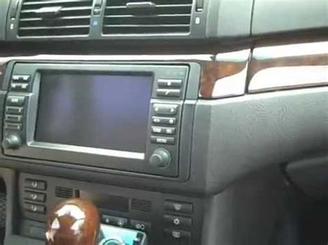 bmw  navigation  stereo removal  youtube