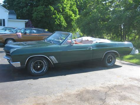 1967 Buick Skylark Convertible For Sale by Buick Skylark Convertible 1967 Green For Sale