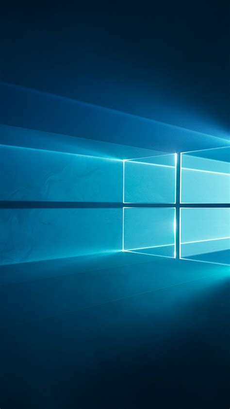 Windows 10 Wallpaper by Wallpaper Windows 10 Windows Logo Blue Hd Technology
