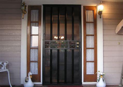 folding iron security doors window guards riverside