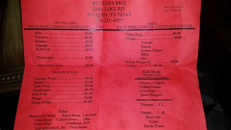 killeen water department phone number butler s bbq 46 photos 44 reviews barbeque 3006