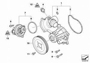 11517586779 - Coolant Pump  Mechanical  Engine  Cooling