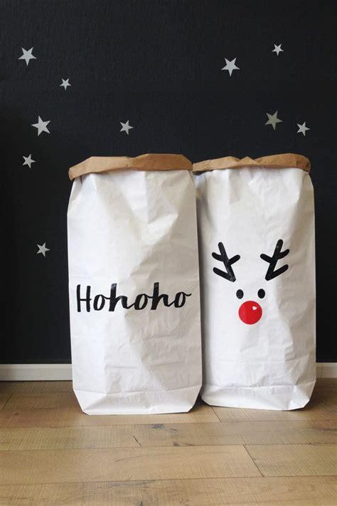 taufgeschenke selber machen weihnachts papiers 228 cke papoersack paperbag adornos weihnachtsshirt personalisierte