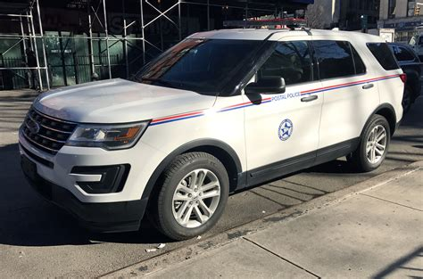 2016 Ford Police Interceptor Utility Belonging To The