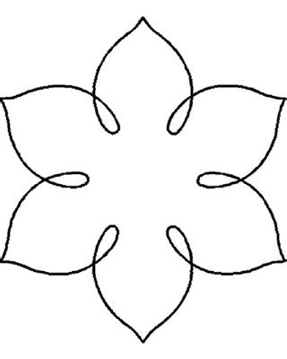 Amazing Deal: Quilting Creations Simple Flower Quilt Stencil