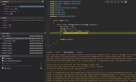Run U-sql And Debug Locally In Azure Data Lake Tools For