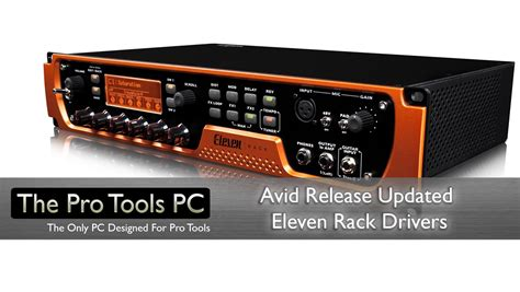 Avid Release Updated Eleven Rack Drivers