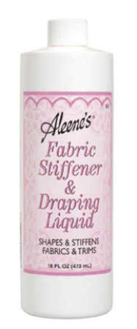 Fabric Stiffener And Draping Liquid - aleene s fabric stiffener and draping liquid mediums and