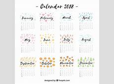 Calendrier 2018 descargar gratuit 2 2018 Calendar