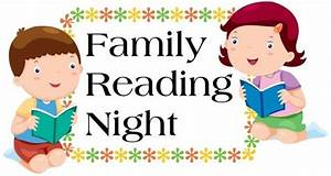 Family Reading Night at School - Real GC News