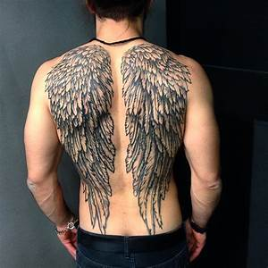 Angel Wing Tattoos for Men - Ideas and Inspiration for ...
