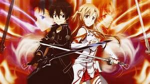 Asuna & Kirito - Sword Art Online Wallpapers ...