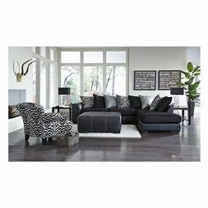 Lease 7pc jasper living room collection aaronscom for Sectional sofa aarons