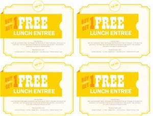 cafe coupon template marketing archive With free meal coupon template