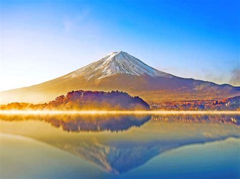 wallpaper mount fuji lake kawaguchiko japan hd