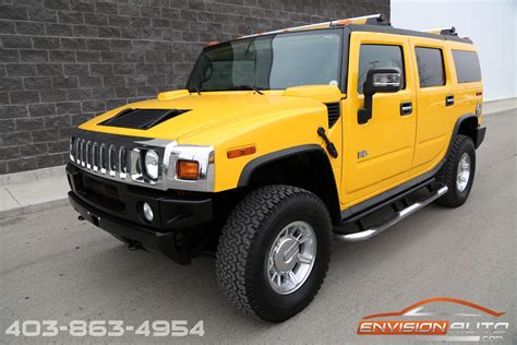 luxury hummer 2005 h2 hummer suv luxury pkg low mileage envision auto
