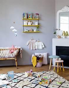 Décoration Murale Chambre Fille : chambre de b b 25 id es pour une fille elle d coration ~ Teatrodelosmanantiales.com Idées de Décoration