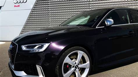 panther black  violet effects audi rs   sale