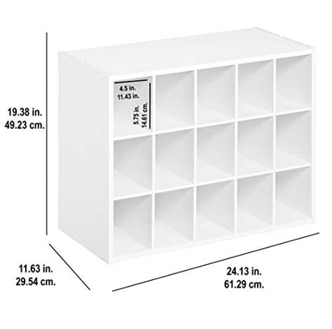 Closetmaid Stackable 15 Cube Organizer - closetmaid 8983 stackable 15 unit organizer white buy