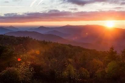 Tennessee Wallpapers Unicoi Mountains Dusk Phone Desktop