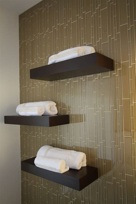 23+ Bathroom Shelf Designs, Decorating Ideas Design
