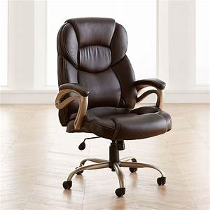 Extra, Wide, Memory, Foam, Office, Chair
