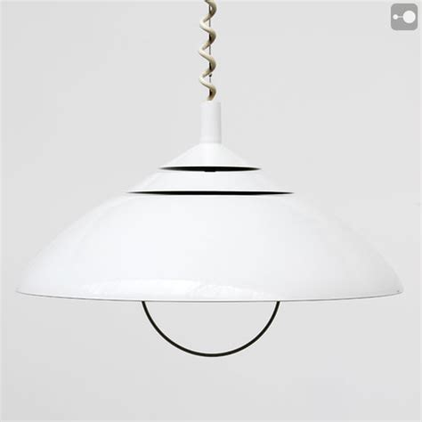 white 3 tier retro ceiling light 1970s theory of