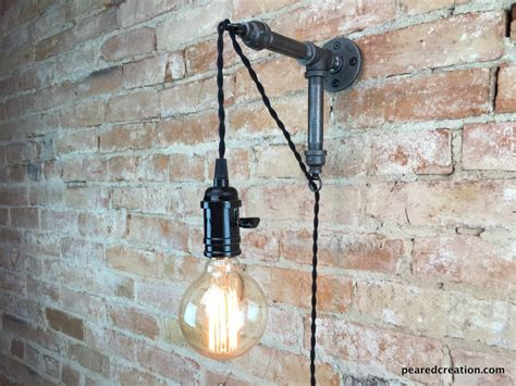 industrial wall sconce pendant edison hanging l