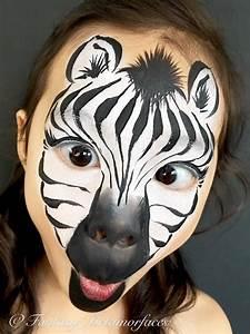 Karneval Gesicht Schminken : zebra gesicht schminke karneval fasching fasching pinterest face painting designs zebra ~ Frokenaadalensverden.com Haus und Dekorationen