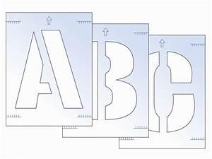 Wwwtoolbankcom letter stencil kit 300mm for Letter stencil kit