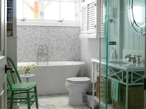 cottage bathrooms hgtv