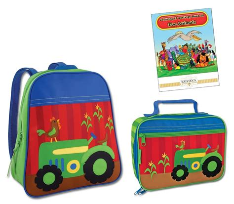 stephen joseph gogo go backpack lunch box set toddler 618 | 893251600 o