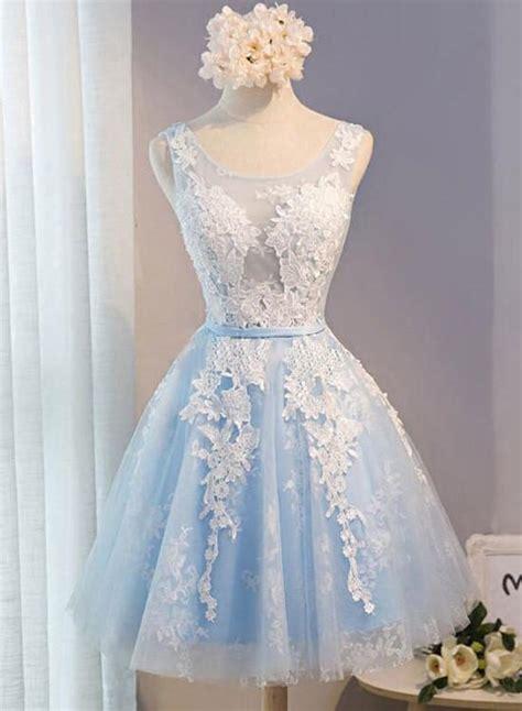 light blue short homecoming dresses lovely formal dress