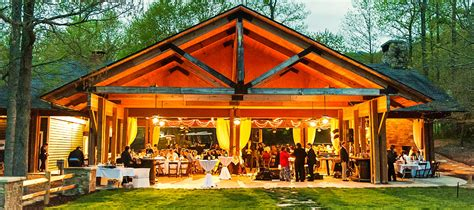 wonderful outdoor country wedding venues brasstown valley