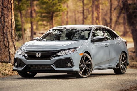 Honda Civic Hatchback Picture by 2017 Honda Civic Hatchback Sport In Sonic Gray Cars
