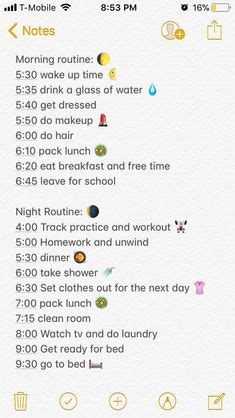 school routine images ideas sons kid chores