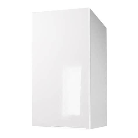 porte caisson cuisine caisson porte haut 30 cm blanc haute brillance achat